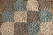 Dziergane dywany