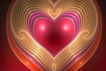 Un corazón por día. / Corazones diversos.