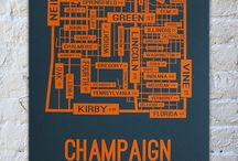 Urbana-Champaign / Our campus spans over two cities, Urbana and Champaign, that both have rich personalities, culture, art, and best of all, some of the best food around.