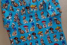 Scrub Tops by Hot Diggity Dog Fabrics™
