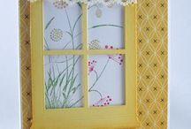Window cards / by Helen A