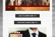 Výroba webových stránek / Články a ukázky výroby webových stránek Gladio marketing