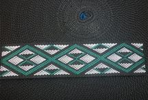 Maori cross stitch