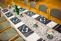 Tischdekoration - Party - Einladung