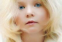 Blonde children
