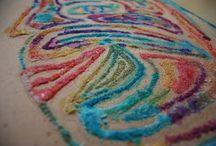 kids' art: paints + other media / by Amy Davis