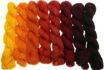 Wolle, Farbverlauf