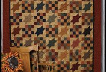Homey Quilts / Quilts in warm and welcoming colors.