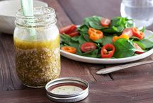 recipes: sauces and dressing / by Jen Hoening