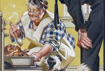 American magazine illustrations