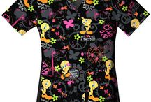 Tweety Scrubs / Tweety Bird Scrub Tops