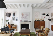 For the Home / I like modern and minimalist design with splashes of color. / by Kristi Wright