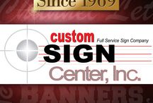 Yard or Lawn Signs, Banners, Graphics & More! / Custom Sign Center is the leader in innovative techniques and processes that make our banners rugged enough to withstand our irregular Ohio weather as well as using them over and over again. Design the sign you want. Several sizes of Yard Signs as well as a myriad sizes for banners. Get started today!
