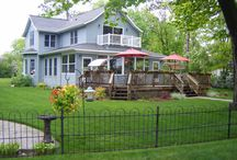 House and Grounds / Enjoy the beautiful home and grounds at the Lake Bemidji Bed and Breakfast
