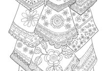Coloring pages/ Para colorear