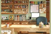 Dream craft room and projects for that room!