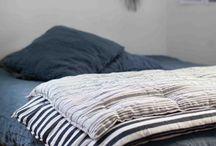 Interiors - dreamy bed linen / Linen always and always