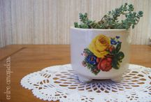 Objetos en cerámica/ Ceramic objects / Objetos diversos realizados en cerámica por Entre Amapolas