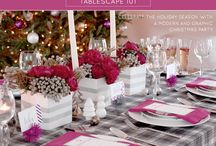 Holiday Ideas & Tablescapes / by Kerri Swann