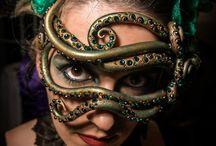 máscara y drag