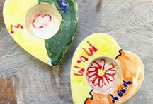 Paint Your Own Pottery / Paint your own designs on a range of pottery items. Have your design glazed and fired.