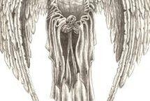 angel death tattoo
