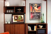 Mid-Century Modern Living / Vintage and Inspired Mid-Century Modern Furniture. / by Dangerdom Studios