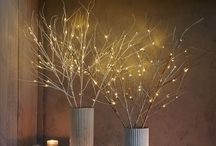 Holiday Decor Ideas / Some cute ideas to add some holiday pizzazz to your home!