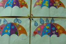 Autumn - Rain - Umbrella