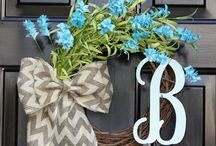 Wreath Ideas / by Natasha Crook Austin