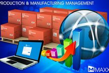 Production and Manufacturing Management / Production and Manufacturing Management   * MAXX reduces the efforts for production, process and planning * Can easily track the raw material required and consumed for the finished product.... http://maxxerp.blogspot.in/2013/12/production-and-manufacturing-management.html