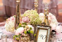 Peach Glamour Wedding Idea