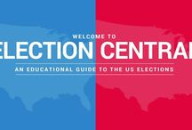 Election Central / PBS' destination for teaching the 2016 elections to your K-12 students. Includes an interactive map following the campaign trail, teacher-leb contests, exclusive content, debate tools and more!