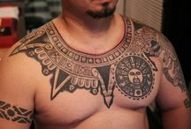 Polynesian Tattoos / Polynesian tattoos varied in symbolic meanings depending upon the culture of the island they came from, with each island having its own customs and traditions.. http://fabulousdesign.net/polynesian-tattoos-meanings/