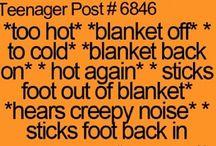 Teenager Post #