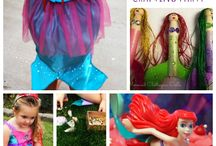 Mermaid party / Under the sea party / Craft parties with an under the sea theme