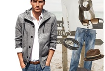Outfit Ideas for Hubby / by Hilary Hillis