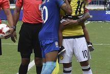 Neymar i James