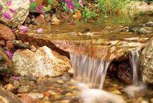 DIY waterfalls