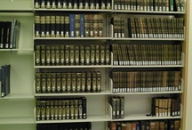 Special Collection Bookshelf / The PJRC special collection bookshelf is located on the wall opposite our general reference collection. The collection includes historically significant reference volumes.