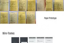 Wireframes and prototype development / Wire frames are created for the purpose of arranging elements to best accomplish a particular purpose. and A prototype commonly reenacts just a couple of parts of, and may be totally unique in relation to, the last item.