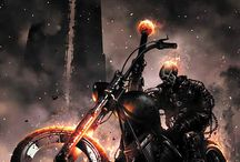 GhoStRidEr Theme / A board about fictional supernatural antiheroes appearing in American comic books and movies.