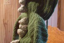 Knitting crocheting / Dinosaur / by Ilze-Mare Lennox
