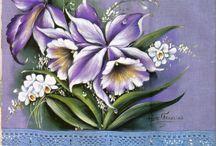 pintura em tecido / by eunice dias