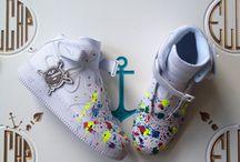 Art on Nikes