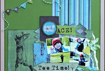 Golf Scrapbooking / Scrapbooking Golf layouts & products