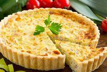tarte oignons jambon