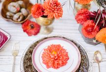 Inspiration | Pantone Flame / Pantone flame is a red-based orange that reminds me of vibrant sunsets and autumn. It is a gregarious, fun loving, flamboyant, vivacious and wonderfully theatrical colour that is bursting with warming energy that adds a fiery heat to the Pantone spring 2017 colour palette. #LaceSixpenceWeddings #WeddingPlanner #WeddingStylist #WeddingDecor #WeddingInspo #Pantone #Flame #PantoneColourReport2017