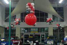Show Rooms / Balloon Decor for Car Dealer Show Rooms