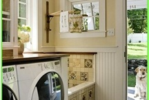 Laundry/mud room / by Casey & Jefff Mino